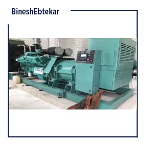 District 22 oyster tower project, diesel generator