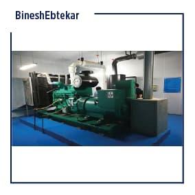 Total Iran Khodro project, diesel generator